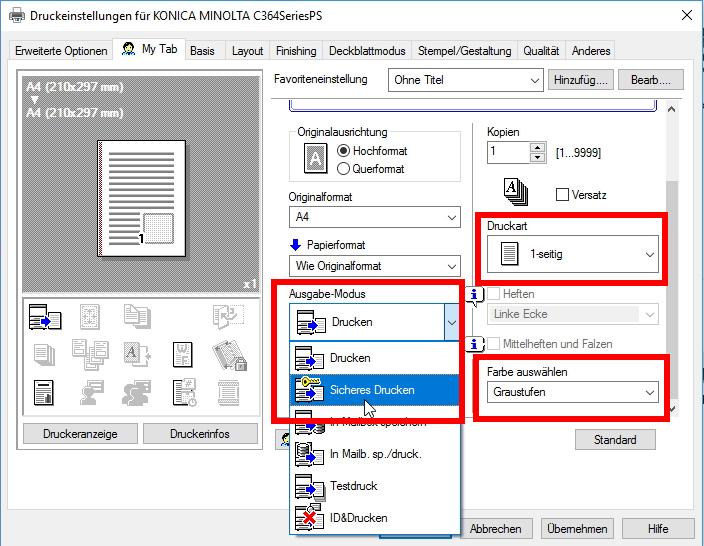 Anleitung für Windows 10 | BiblioCopy